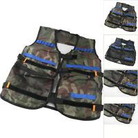 Children Tactical Vest Kids Thin Jacket Tactical For Nerf N-Strike Elite Series