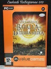 El Señor de los Anillos, La Batalla por la Tierra Media // PC cd-rom // PAL ESP