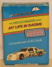 Ken Schrader Redline Racing 'The Ken Schrader Story My Life in Racing' Limited
