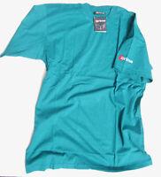 Erima T-Shirt kurzarm Alpine Green Gr. S Baumwolle NEU (K1)