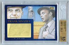 Autógrafo de Frank Sinatra