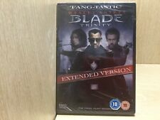 Blade Trinity Extended Version DVD New & Sealed Wesley Snipes