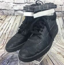 Womens PUMA SKY HIGH CONTACT Hidden Wedge Heel Athletic Shoes Black Sz US 9.5