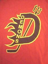 Demons Youth Ice Hockey Skates Sports Tough T Shirt S