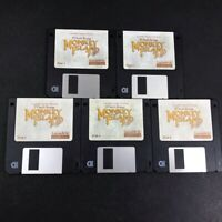"""LeChuck's Revenge Monkey Island 2 IBM PC Game on 3.5"""" Disks Diskettes ONLY"""