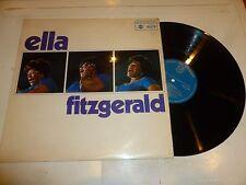 ELLA FITZGERALD with the LOU LEVY TRIO - Ella Fitzgerald - 1966 UK 10-track LP