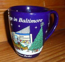 Christmas Village In Baltimore - German Christmas Market Mug Cup *Displayed Only