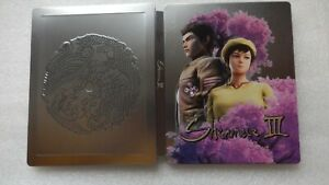Shenmue 3 III Steelbook ONLY PS4 (NO GAME, PLEASE READ) Steelbook ONLY Shenmue 3