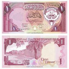 Kuwait 1 Dinar 1980-91 P-13d Banknotes UNC