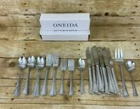 Oneida Stainless Arbor  American Harmony 31 Pc Spoons Forks Knives Mixed Set