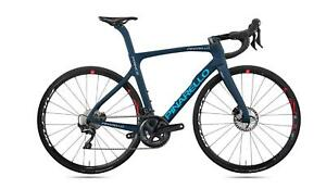 Pinarello Prince Disk TiCR Ult LC 54.5 2021 Carbon Race A213 Blue Steel