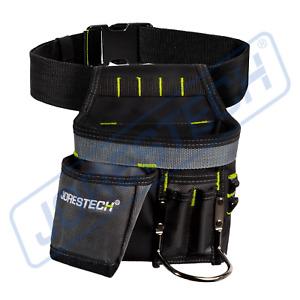 Electrician Tool Bag Waist 5 Pocket Pouch Belt Holder Maintenance JORESTECH
