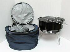 Portable Grill + Cooler Bag Carrying Case Camping BBQ Excalibur Electronics