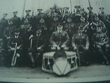 reprint picture - royal air force RAF central band at its first engagement