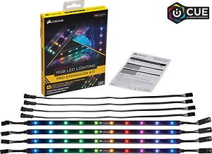 Corsair RGB LED Lighting PRO,Commander Expansion Kit  Black Vivid Illumination
