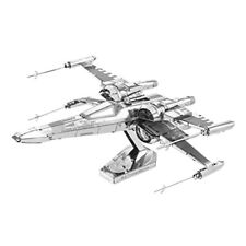 Metal Earth Maquette 3d Star Wars Ep7 PoE Damerons x Wing Fighter 2 Pièce
