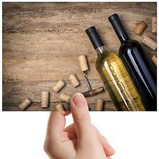 "Wine Bottles Vintage Bar - Small Photograph 6"" x 4"" Art Print Photo Gift #8747"