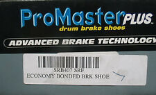 BRAND NEW PROMASTER PLUS SRB407 REAR BONDED BRAKE SHOES FITS LISTED