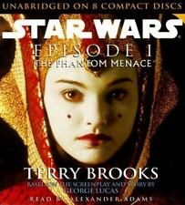 Star Wars: The Phantom Menace by Terry Brooks (1999, CD, Unabridged)