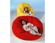 Chillout Pouf Sac assise Large, Rouge, 290L