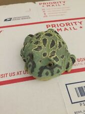Stone Critters Argentine horned Frog Figurine
