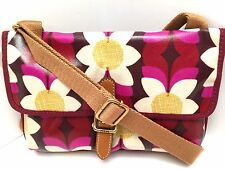 FOSSIL Women's XBody Messenger Bag *Keyper Pink Floral*  Shoulder Purse *New