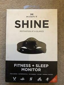 Misfit Shine Fitness + Sleep Monitor (Jet Black)