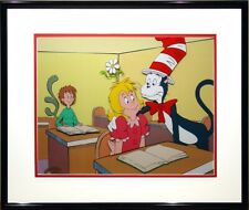 """""""Daisy-Head Mayzie"""" Limited Edition Hand-Painted Cel Framed Cat in the Hat H-B"""