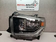 Toyota Tundra 2018 Off Road Package Left Front Headlight (LED) Genuine OEM