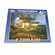 White Mountain Autumn Traditions Terry Redfin 300 XL Pcs Puzzle Complete