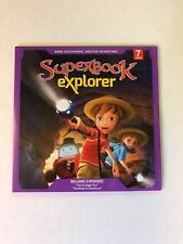 Superbook Explorer Volume 7 DVD The Prodigal Son & The Road to Damascus CBN
