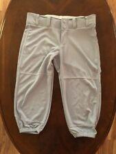 Woman's Softball Pants Grey Gray Size Small