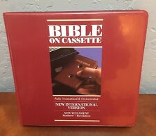 The Bible on Audio Cassette - New Testament Matthew - Revelation Family Books