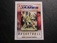 Lebron James 2003 FA Productions 7/50 Future Rookie Card Rare Irish RC Promo
