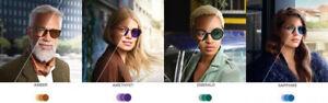 Reglaze Glasses Specs Hardcoated Transition Style Colours Lenses- NEW !!!