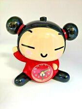 Pucca Rare Korean Cartoon Alarm Clock Tested Works Plays Under the Sea (M1)