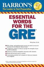 Barron's Essential Words for the GRE  VeryGood