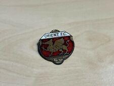 More details for vintage (leyton) orient f.c. enamel badge crest
