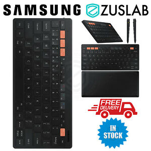 Genuine SAMSUNG Universal Bluetooth Smart Keyboard Trio 500 Black