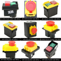 10 Types Emergency Stop Button Switch Electrical Pushubotton Workshop Machine