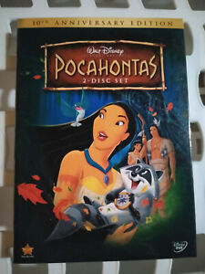 Pocahontas DVD 10th Anniversary Edition (DVD, 2005, 2-Disc Set) Brand new Sealed