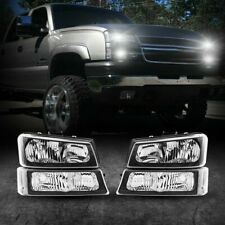 For 2003 2007 Chevy Silverado 1500250035001500hd2500hd Headlight Assembly Us Fits 2004 Avalanche 1500