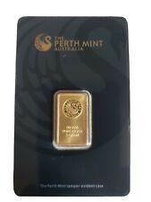 5 gram Gold Bar PERTH MINT in Sealed Assay