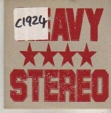 (CM424) Heavy Stereo, Mouse In A Hole - 1996 DJ CD
