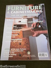 FURNITURE & CABINETMAKING - TAPERED CHEST OF DRAWERS - JULY 1998
