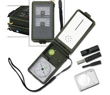 NEW MULTI-FUNCTION EMERGENCY SURVIVAL KIT Meter Compass Fire Starter LED Light
