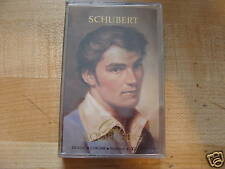 Great Composers Franz Schubert 2 sealed cassettes