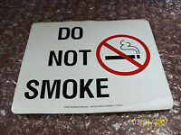 """Do Not Smoke"" Used Signs"