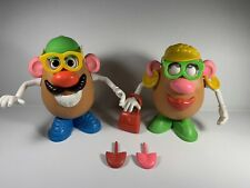 mr and mrs potato head with accessories (good condition)