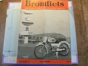 BRO6402 MOPED MAG, RAI ISSUE,TOMOS TEST IN NEDERLAND,ITAL 1964,TESTI,AVAROS,UNIO